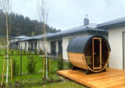 Installation d'un sauna terrasse à Liège